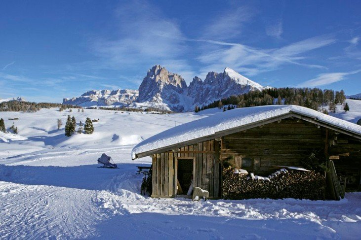 Our restaurant is located directly at the mountain station of the ski resort Alpe di Siusi