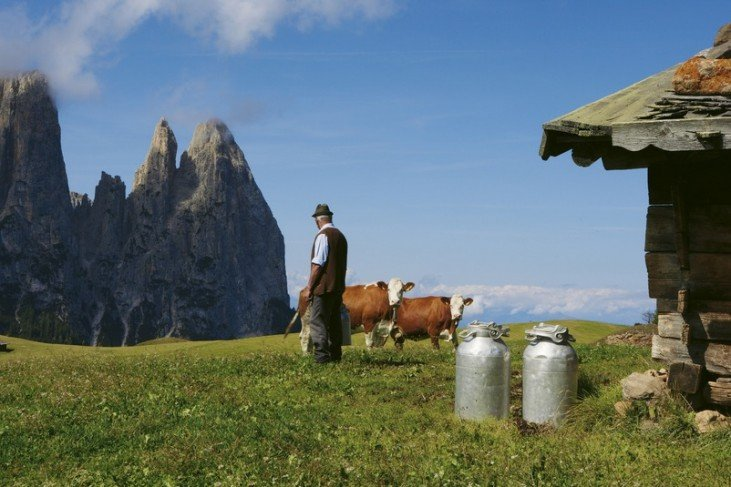 Culture and nature - Great destinations on the Alpe di Siusi in the Dolomites / South Tyrol